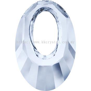 Swarovski 6040 Helios Pendant, 20mm, Crystal Blue Shade (001 BLSH), 1pcs/pack