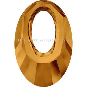 Swarovski 6040 Helios Pendant, 20mm, Crystal Copper (001 COP), 1pcs/pack