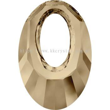Swarovski 6040 Helios Pendant, 20mm, Crystal Golden Shadow (001 GSHA), 1pcs/pack