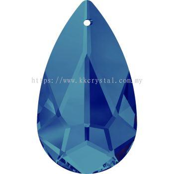Swarovski 6100 Tear Drop Pendant, 24x12mm, Crystal Bermuda Blue (001 BB), 1pcs/pack