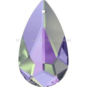 Swarovski 6100 Tear Drop Pendant, 24x12mm, Crystal Vitrail Light (001 VL), 1pcs/pack
