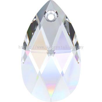 Swarovski 6106 Pear Pendant, 22mm, Crystal AB (001 AB), 1pcs/pack