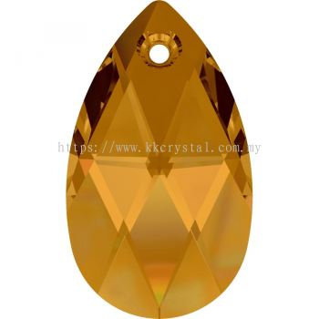 Swarovski 6106 Pear Pendant, 16mm, Crystal Copper (001 COP), 1pcs/pack