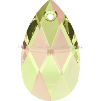 Swarovski 6106 Pear Pendant, 16mm, Crystal Luminous Green (001 LUMG), 1pcs/pack