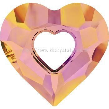 Swarovski 6262 Miss U Heart Pendant, 17mm, Crystal Astral Pink (001 API), 1pcs/pack