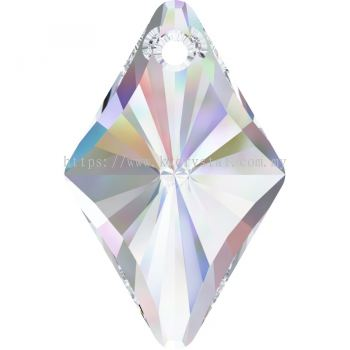 Swarovski 6320 Rhombus Pendant, 19mm, Crystal AB (001 AB), 1pcs/pack