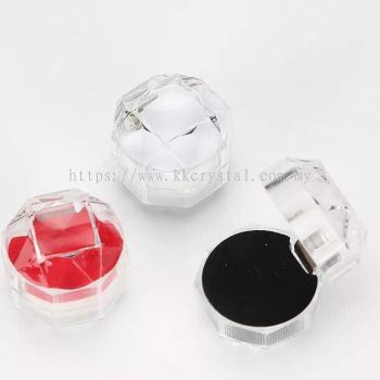 Acrylic Ring Box, 20pcs/pack