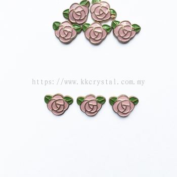 Iron On Metal, Code 18-05#, K2 Light Rose, 50pcs/pack