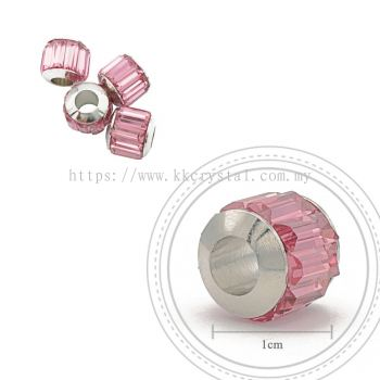 180301 Charm, 223 Light Rose, 4pcs:pack