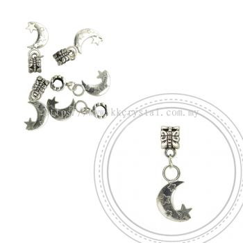 Dangle Charms, D32, Plated, 5pcs:pack