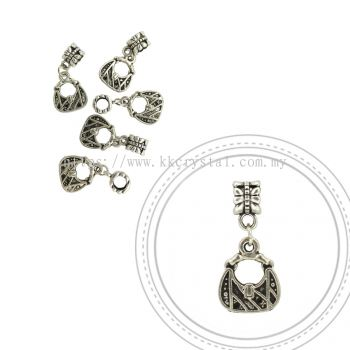 Dangle Charms, D29, Plated, 5pcs:pack