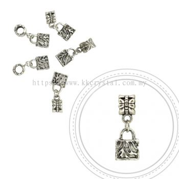 Dangle Charms, D08, Plated, 5pcs:pack