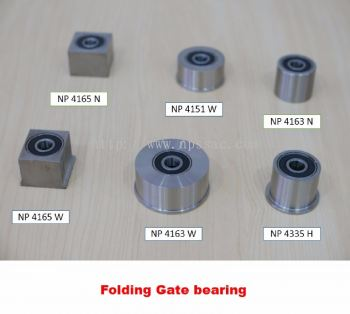Folding Gate Bearing