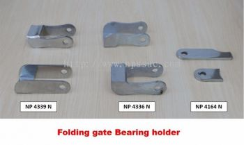 Folding Gate Bearing Holder