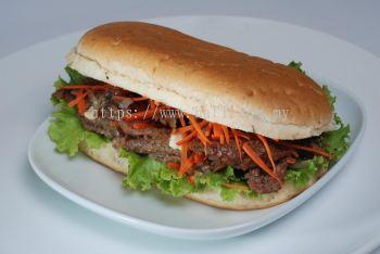 COOKED BEEF IN BLACK PEPPER SANDWICH FILLINGS
