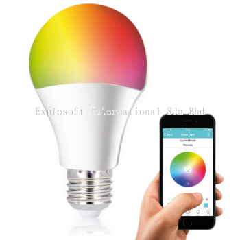 Wi-Fi Smart LED Light Bulb - RGB