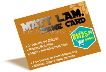 Lamination Card