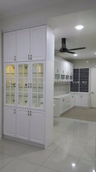 Nyatoh kitchen cabinet