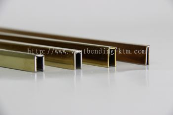 Bending with V-Cut with the smaller size as 3mm width