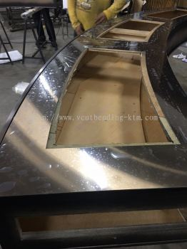 Stainless Steel Furniture (Laser Cut, V-cut, Bending, Wrapping) Fabrication