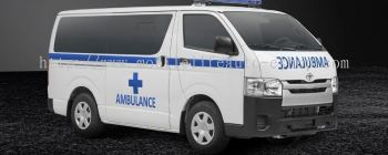 AMBULANCE TYPE TRANSFER TOYOTA HIACE SEMI PENAL LOW ROOF