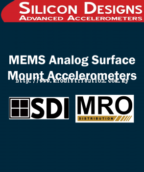 MEMS Analog Surface Mount Accelerometers