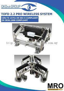 TOFD 2.2 PRO Wireless System