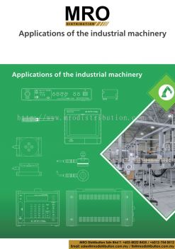 APPLICATIONS OF THE INDUSTRIAL MACHINERY