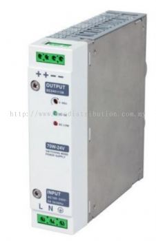 Din RAIL Power Supply, ac-dc, 180W, 1 Output 7.5A at 24Vdc
