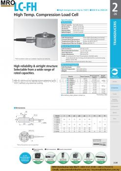 High Temp. Compression Load Cell LC-FH