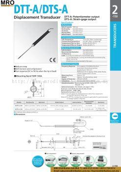Displacement Transducer DTT-A/DTS-A