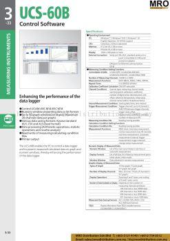 Control Software UCS-60B