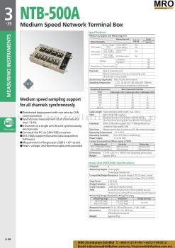 Medium Speed Network Terminal Box NTB-500A