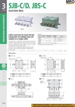 Junction Box SJB-C/D, JBS-C