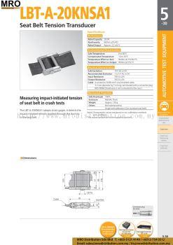 Seat Belt Tension Transducer LBT-A-20KNSA1