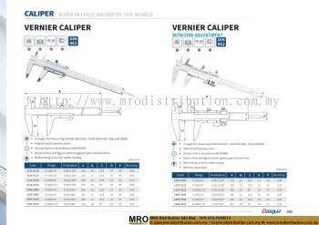 Vernier Caliper & Vernier Caliper With Fine Adjusment