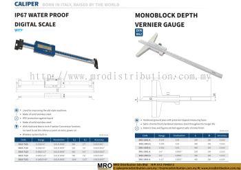 IP67 Water Proof Digital Scale & Monoblock Depth Vernier Gauge