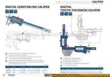Digital Centerline Caliper & Digital Tooth-Thickness Caliper