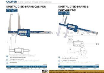 Digital Disk-Brake Caliper & Digital Disk-Brake & Pad Caliper