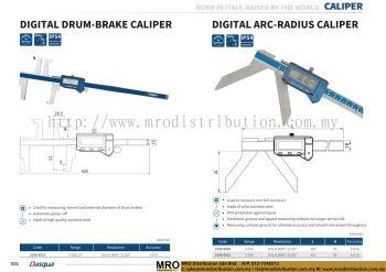 Digital Drum-Brake Caliper & Digital Arc-Radius Caliper