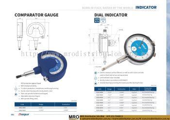 Comparator Gauge & Dial Indicator