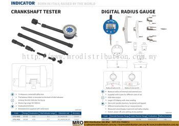 Crankshaft Tester & Digital Radius Gauge