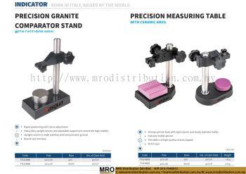 Precision Granite Comparator Stand w/ Cast From Anvil & Precision Measuring Table w/ Ceramic Anvil