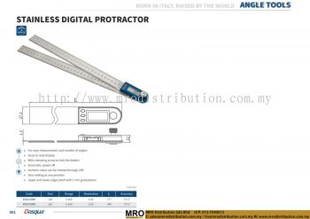 Stainless Digital Protractor