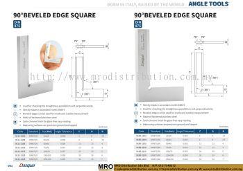 90�� Beveled Edge Square