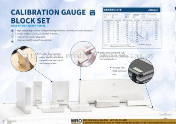 Calibration Gauge Block Set Made Of High-Quality Steel