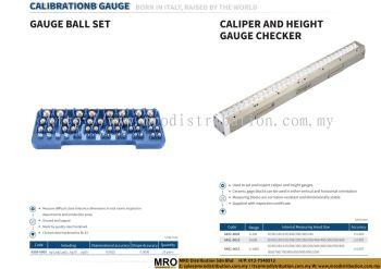 Gauge Ball Set & Caliper and Height Gauge Checker