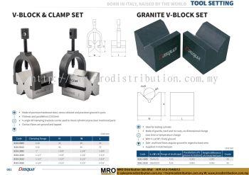 V-Block and Clamp Set & Granite V-Block Set