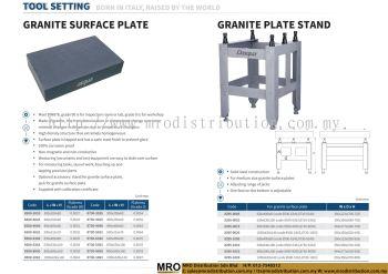 Granite Surface Plate & Granite Plate Stand