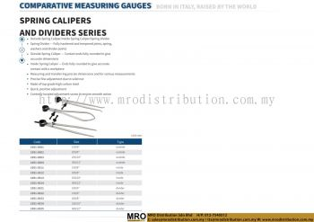 Spring Calipers And Dividers Series